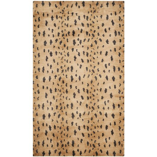 Safavieh Tibetan Leopard Brown Area Rug