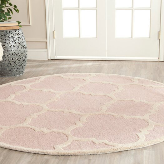 Safavieh Cambridge Light Pink / Ivory Area Rug
