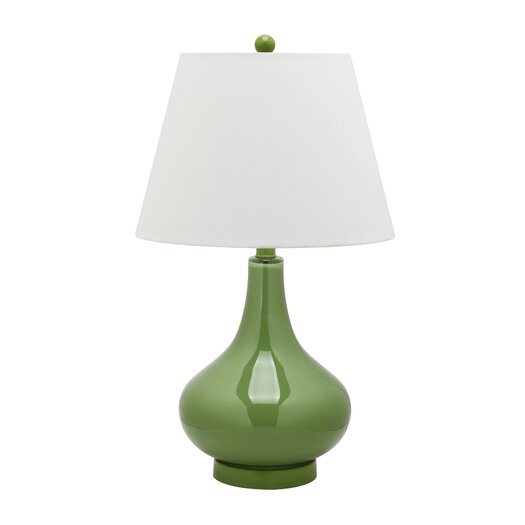 Safavieh Adams Gourd Table Lamp with Empire Shade