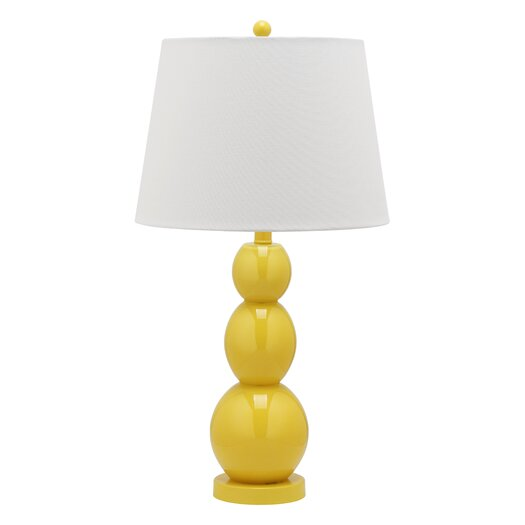 Safavieh Jayne Three Sphere Table Lamp with Drum Shade