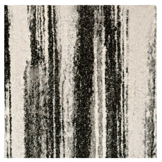 Safavieh Retro Dark Grey & Light Grey Area Rug