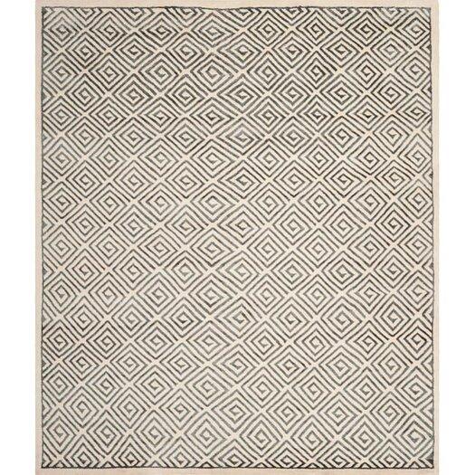 Safavieh Mosaic Ivory / Grey Geometric Rug
