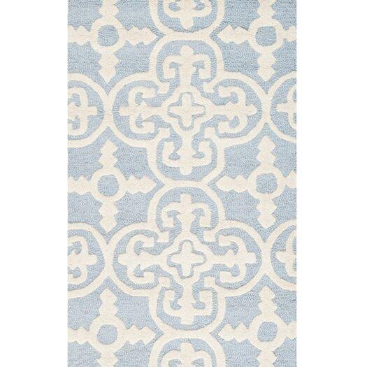 Safavieh Cambridge Light Blue / Ivory Area Rug