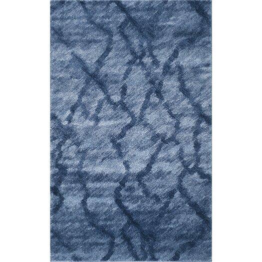 Safavieh Retro Blue / Dark Blue Rug