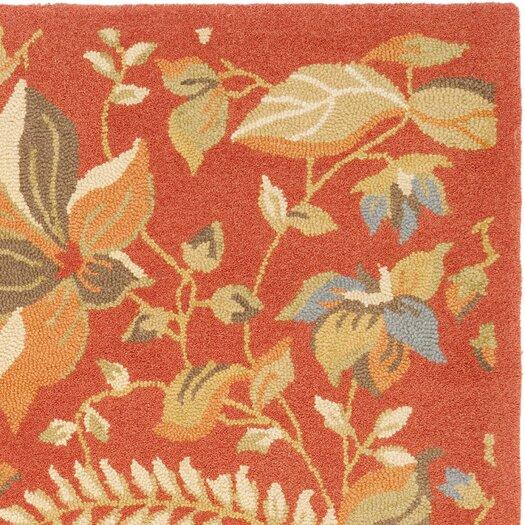 Safavieh Blossom Rust/Multi Area Rug
