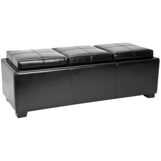 Safavieh Carter 3 Seater Storage Ottoman