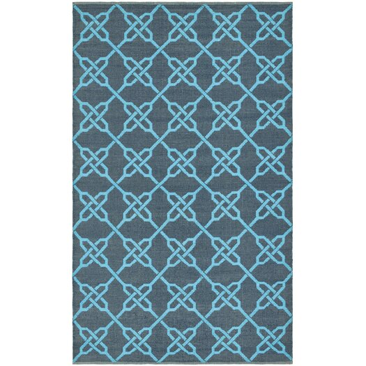 Safavieh Thom Filicia Spray/Blue Outdoor Area Rug