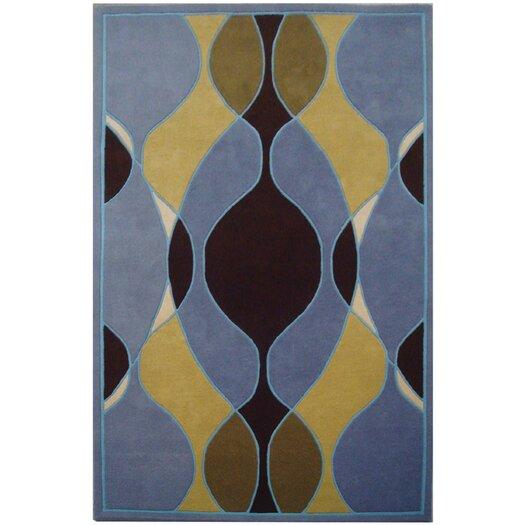 Safavieh Soho Blue Swirl Area Rug