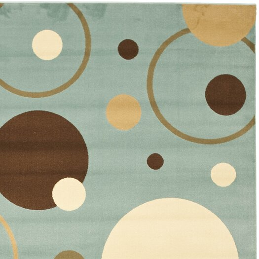 Safavieh Porcello Flower-Petal Blue Area Rug