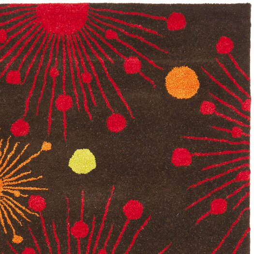 Safavieh Soho Brown Fireworks Area Rug