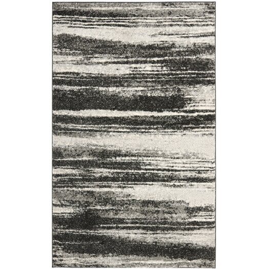 Safavieh Retro Dark Grey & Light Grey Rug