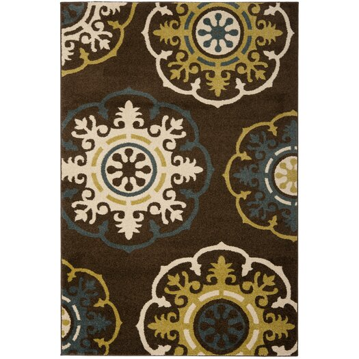 Safavieh Newbury Brown/Green Area Rug