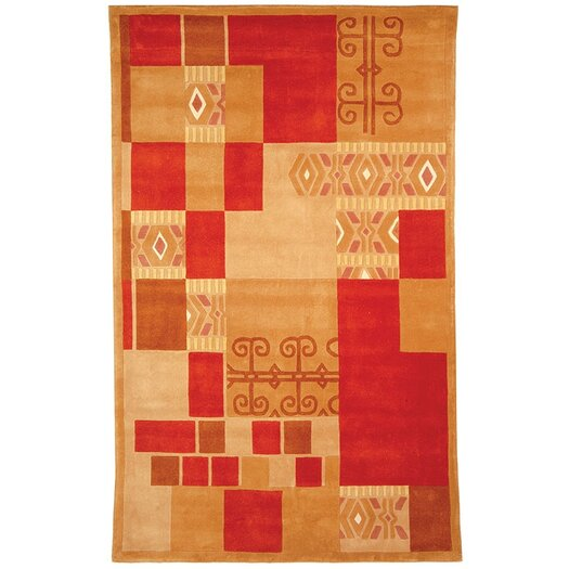 Safavieh Rodeo Drive Red/Brown Area Rug
