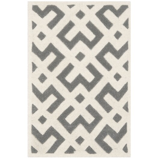 Safavieh Chatham Dark Grey & Ivory Rug