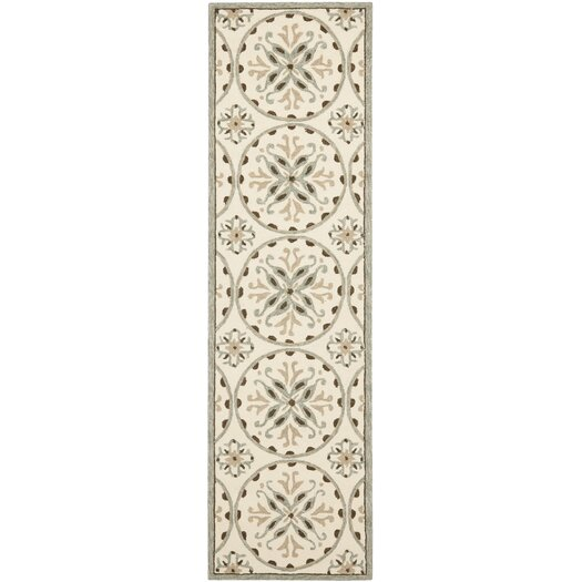 Safavieh Four Seasons Ivory/Brown Outdoor Area Rug