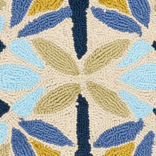 Safavieh Four Seasons Tan & Blue Area Rug