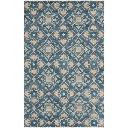 Safavieh Wyndham Blue / Grey Area Rug