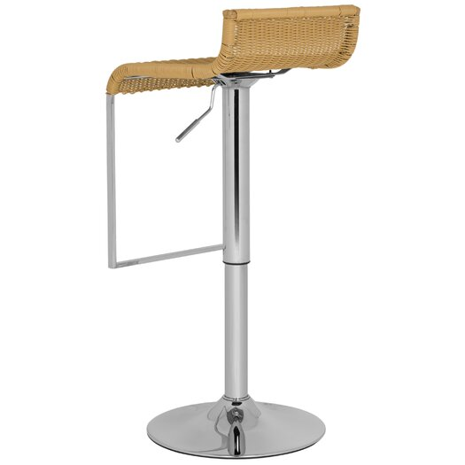Safavieh Zandrea Adjustable Height Swivel Bar Stool