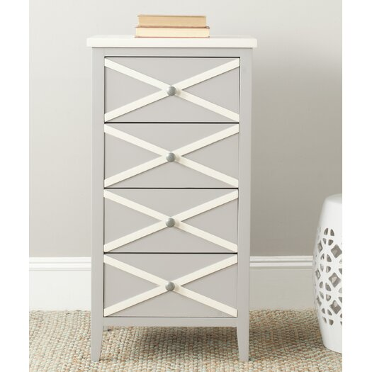 Safavieh Sherrilyn 4 Drawer End Table
