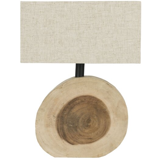 """Safavieh Forester 12.6"""" H Table Lamp with Rectangular Shade"""