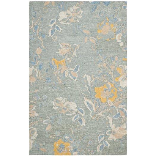 Safavieh Jardin Silver / Blue Floral Rug