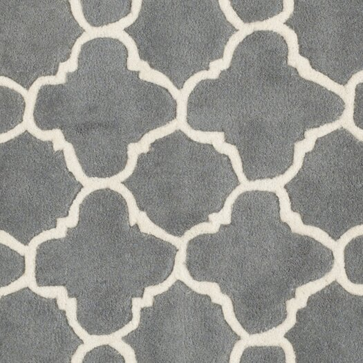 Safavieh Chatham Dark Grey & Ivory Area Rug