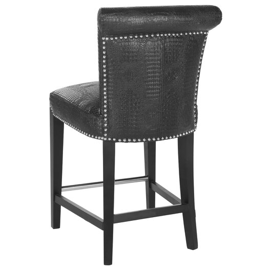 "Safavieh Seth 24"" Bar Stool with Cushion"