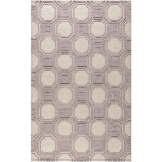 Safavieh Martha Stewart Puzzple Floral Ivory/Purple Area Rug