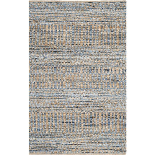 Safavieh Cape Cod Natural and Blue Area Rug