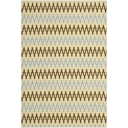 Safavieh Hampton Ivory Outdoor Area Rug