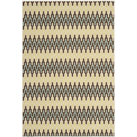 Safavieh Hampton Grey/Ivory Outdoor Area Rug