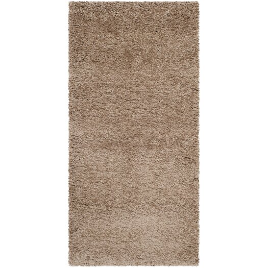 Safavieh Milan Shag Dark Beig Outdoor Area Rug