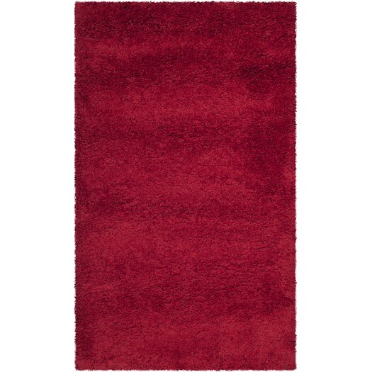 Safavieh Milan Shag Red Rug