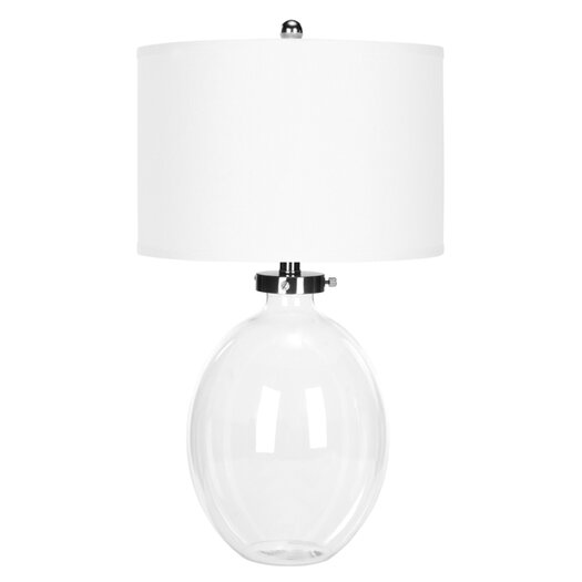 "Safavieh 26"" H Table Lamp with Drum Shade"