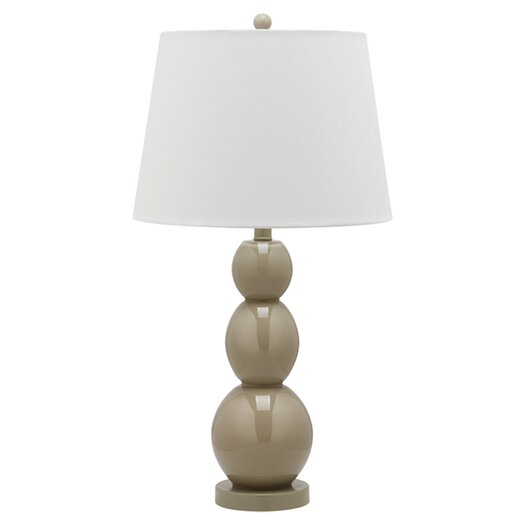 Safavieh Jayne Three Sphere Table Lamp with Drum Shade
