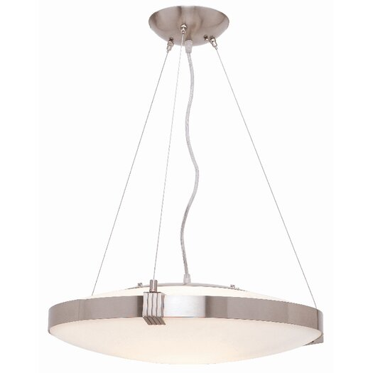 Access Lighting Luna 1 Light Drum Pendant