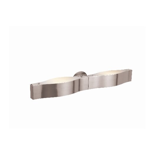 Access Lighting Titanium 2 Light Bath Bar