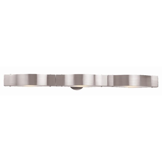 Access Lighting Titanium 3 Light Bath Bar