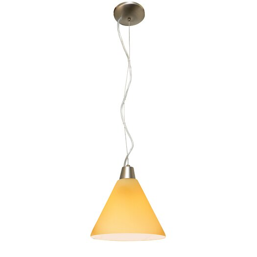 Access Lighting Ami Inari Silk 1 Light Mini Pendant