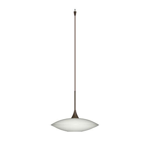 Besa Lighting Spazio 1 Light Mini Pendant
