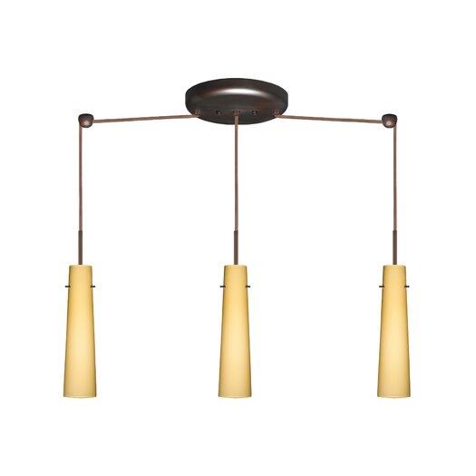 Besa Lighting Camino 3 Light Mini Pendant