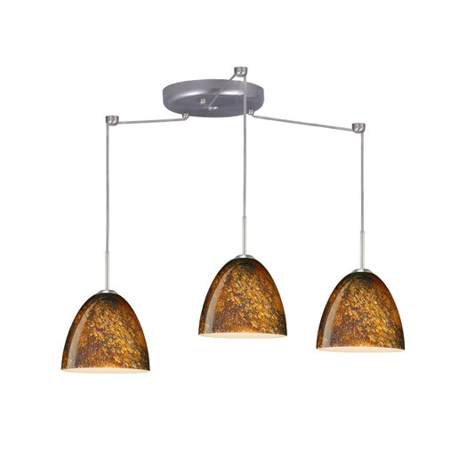 Besa Lighting Vila 3 Light Pendant