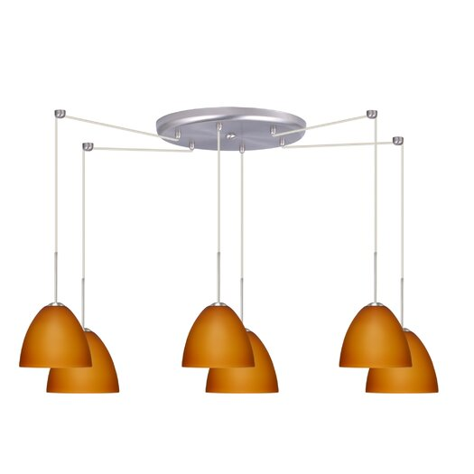 Besa Lighting Sasha II 6 Light Mini Pendant
