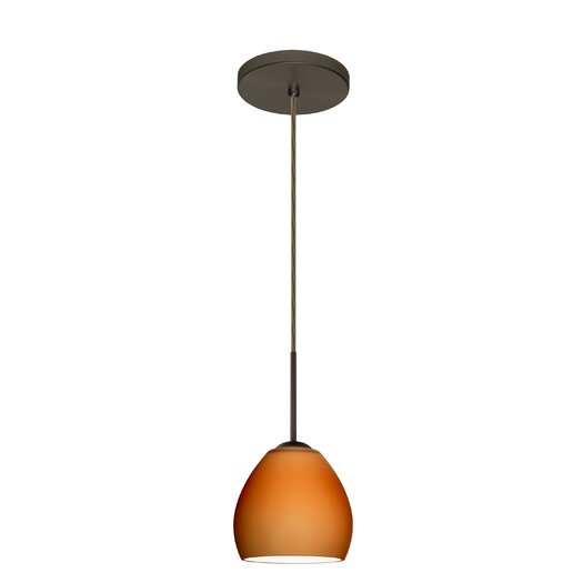 Besa Lighting Bolla 1 Light Mini Pendant