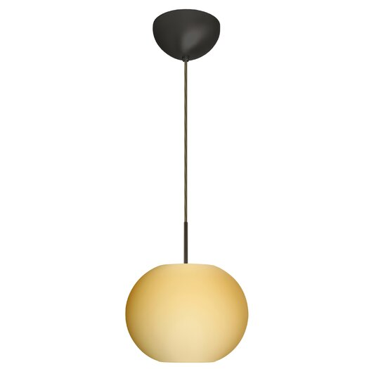 Besa Lighting Luna 1 Light Globe Pendant
