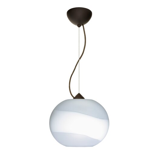 Besa Lighting Luna 1 Light Mini Pendant