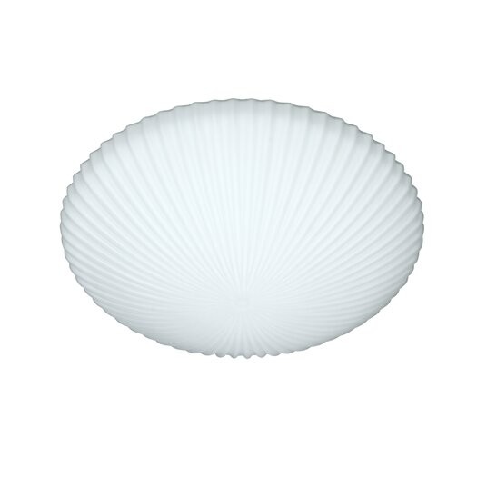 Besa Lighting Opal Glass Flush Mount