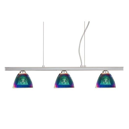 Besa Lighting Divi 3 Light Kitchen Island Pendant