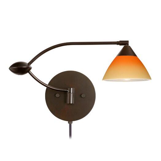 Besa Lighting Domi 1 Light Swing Arm Light