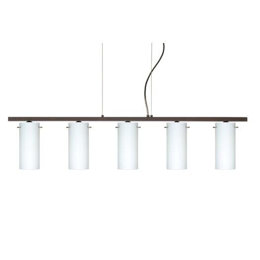 Besa Lighting Copa 5 Light Kitchen Island Pendant